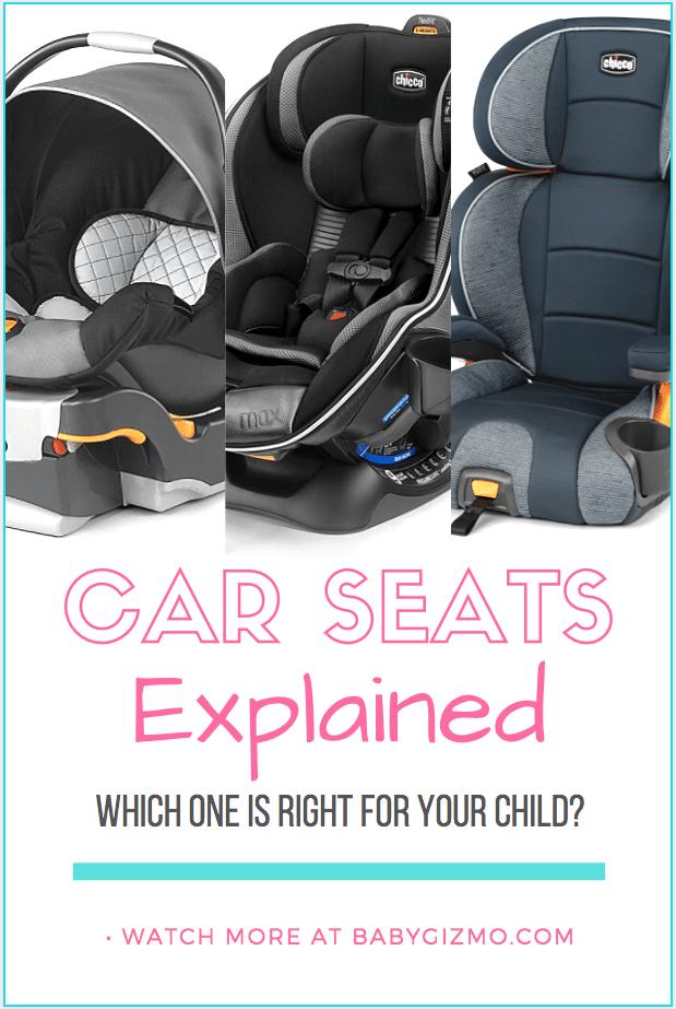 car seats explained