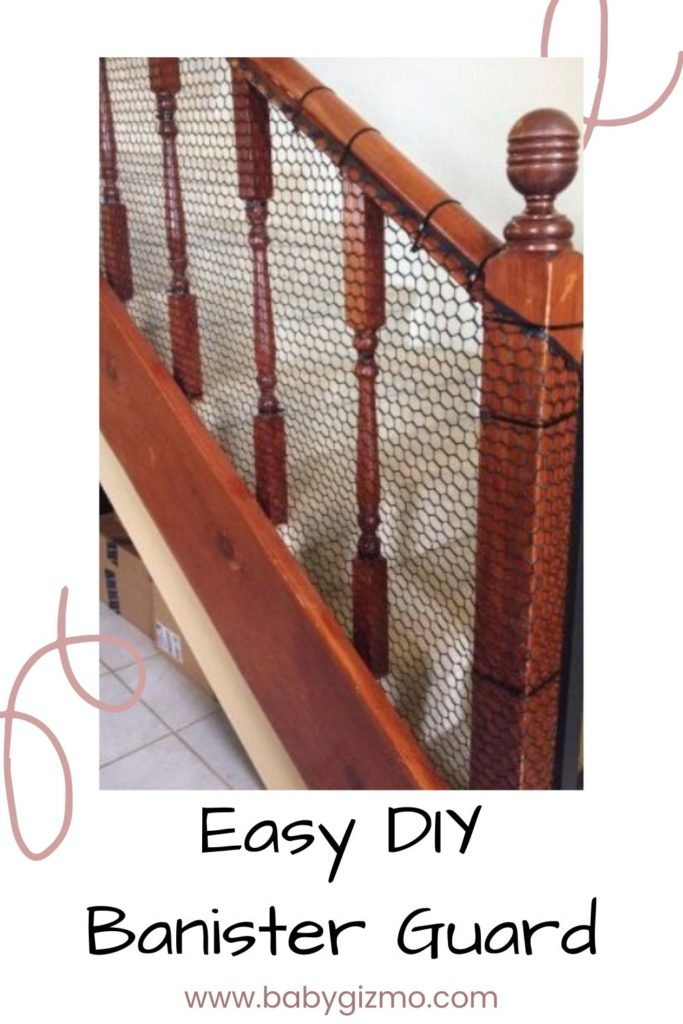 diy banister guard