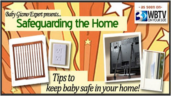 As Seen on WBTV – Baby Proofing Your House to Keep Baby Safe