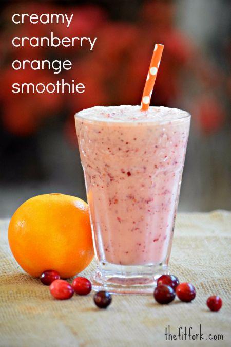 Creamy-Cranberry-Orange-Smoothie
