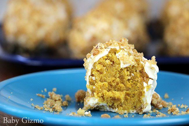 Pumpkin Crunch Cake Balls Recipe