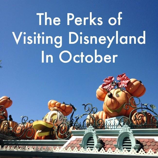 The Perks of Visiting Disneyland In October