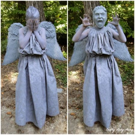 WEEPING ANGEL Collage 1