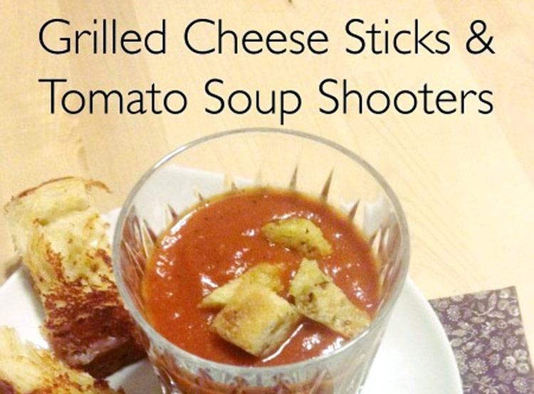 grilled cheese shooters