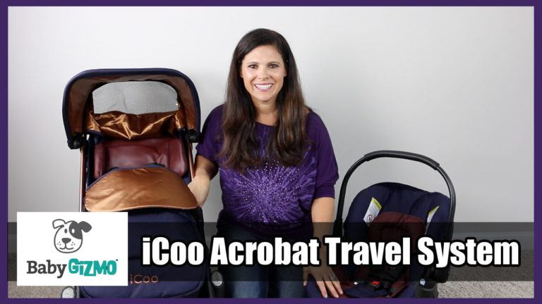iCoo Acrobat Stroller Travel System Review (VIDEO)