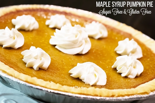 Maple Syrup Pumpkin Pie