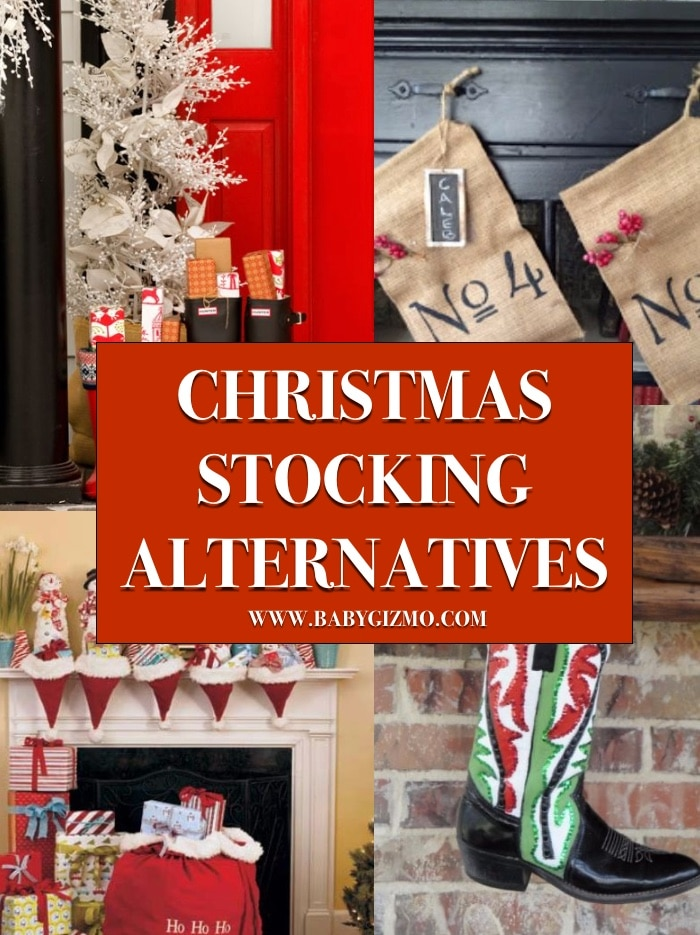 7 Christmas Stocking Alternatives