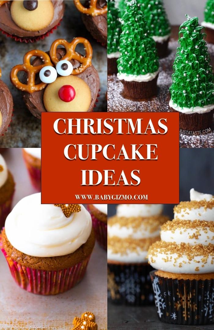 10 Christmas Cupcake Recipes