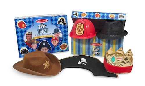 Dress up hats