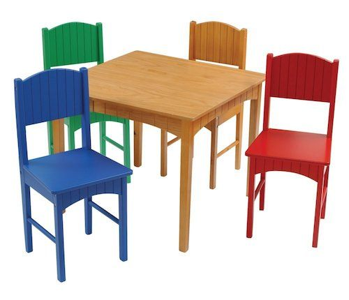 Kidcraft table and chairs