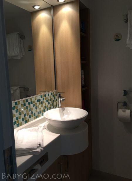 Royal Caribbean bathroom