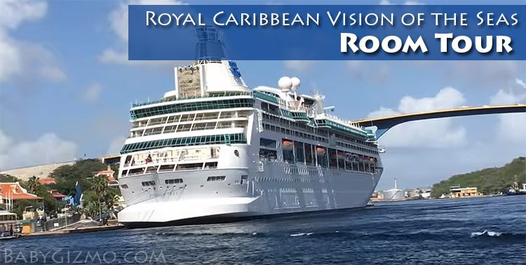 Royal Caribbean Vision of the Seas Room Tour