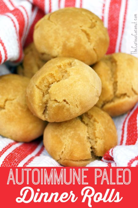 Paleo Dinner Rolls REcipe