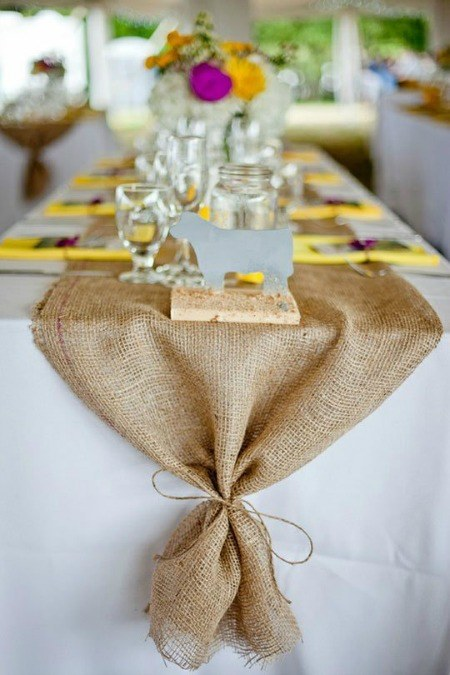 Thanksgiving decor on a table