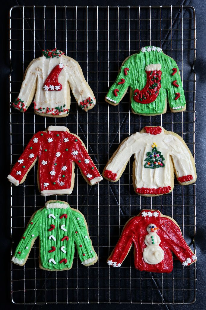 Christmas cookie recipes - sugar cookies