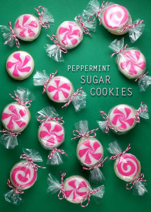 Peppermint Sugar Cookie Recipes