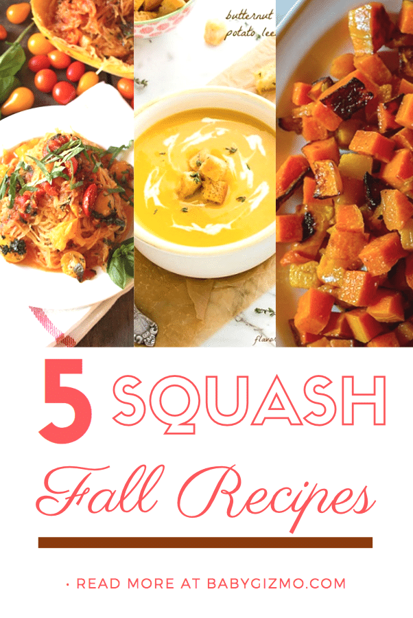 5 Delicious Fall Squash Recipes