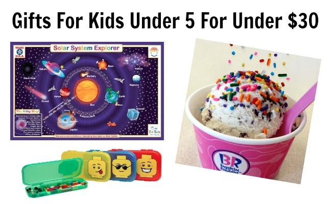 Gifts For Kids Under 5 For Under $30