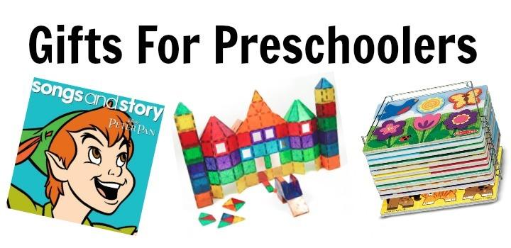 Gifts For Preschoolers