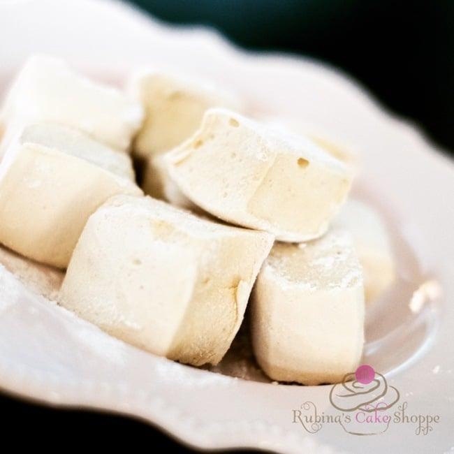honey sweetened marshmallow