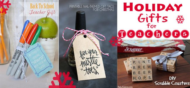 10 Christmas Gifts for Teachers