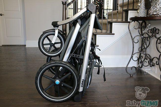 stroller folded