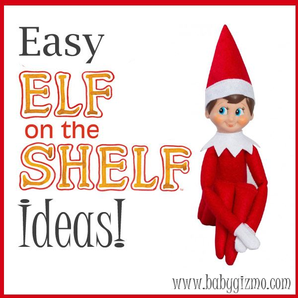 Easy Elf on the Shelf Ideas for The Rest of the Month!