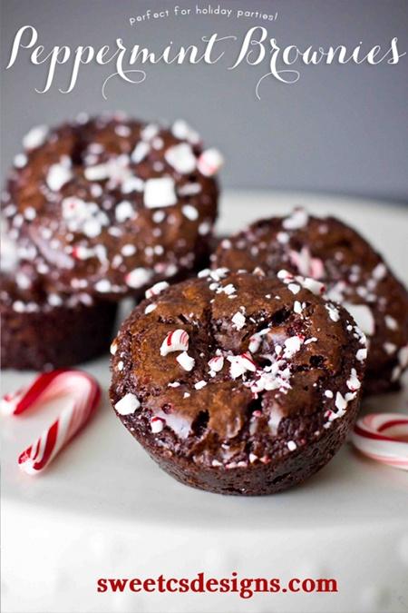 peppermint-brownies
