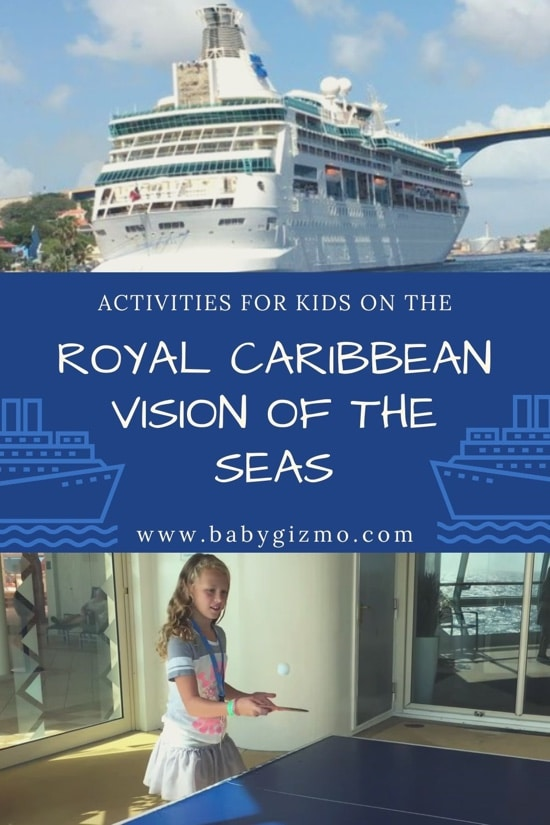 Royal Caribbean Cruise Activities on Vision of the Seas