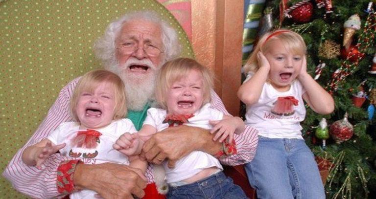 11 Funny Santa Photos