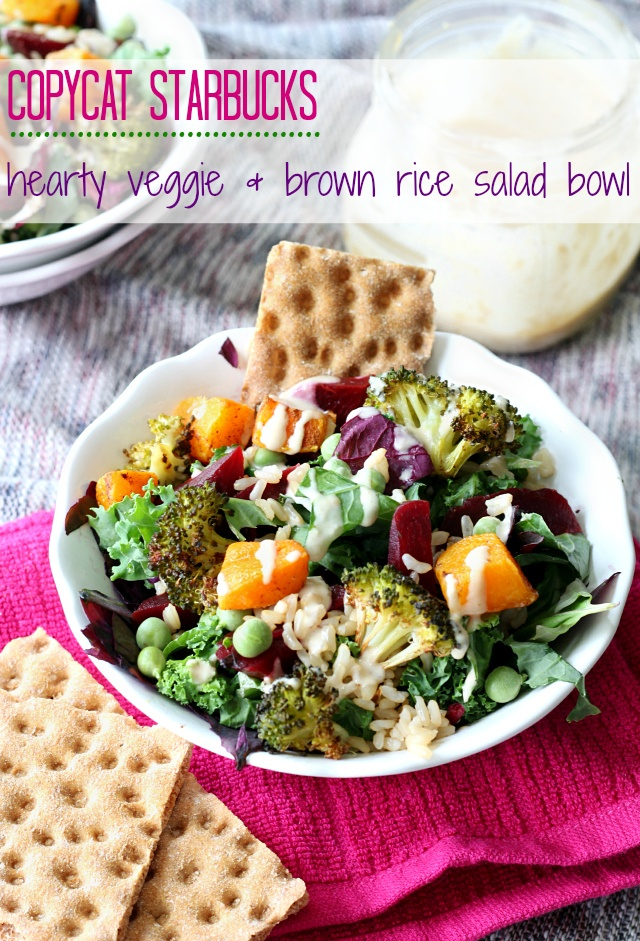 copy cat starbucks healthy rice bowl