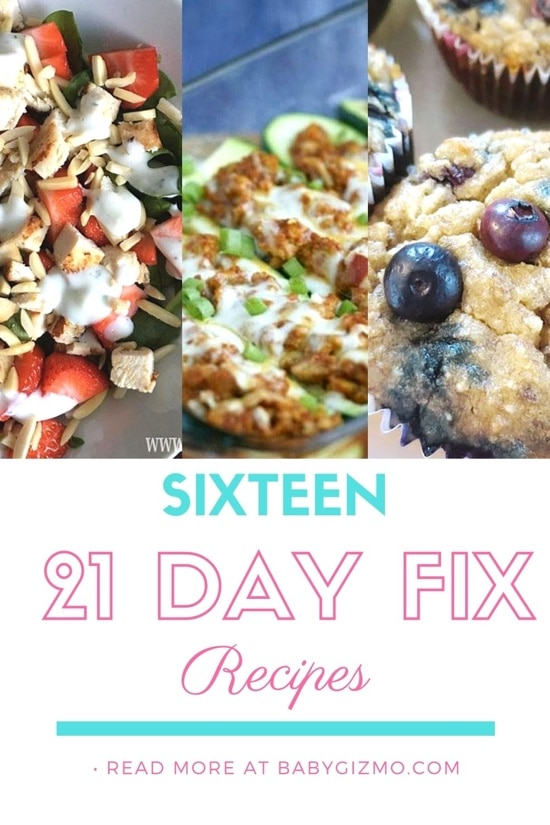 Sixteen 21 Day Fix Recipes That We Love