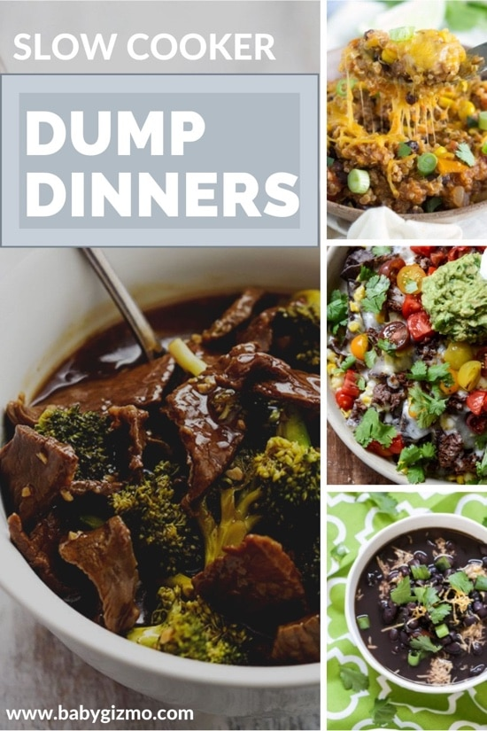 10 Slow Cooker Dump Dinners