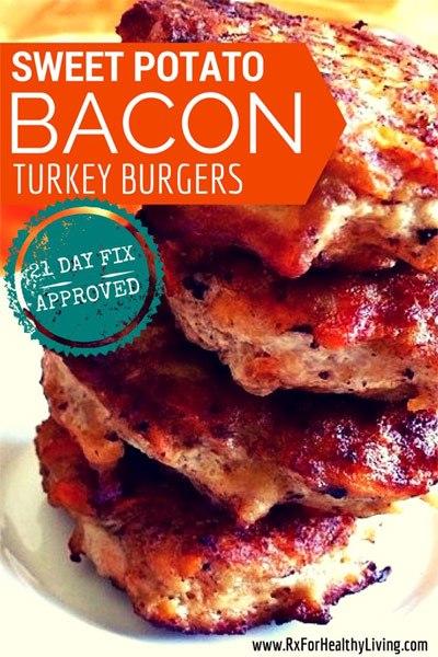 21 day fix burgers