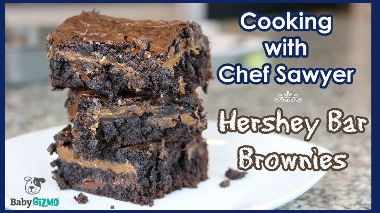 How to Make Hershey Bar Brownies with Chef Sawyer