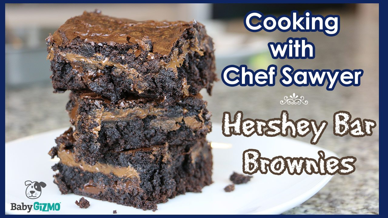 hershey bar brownies