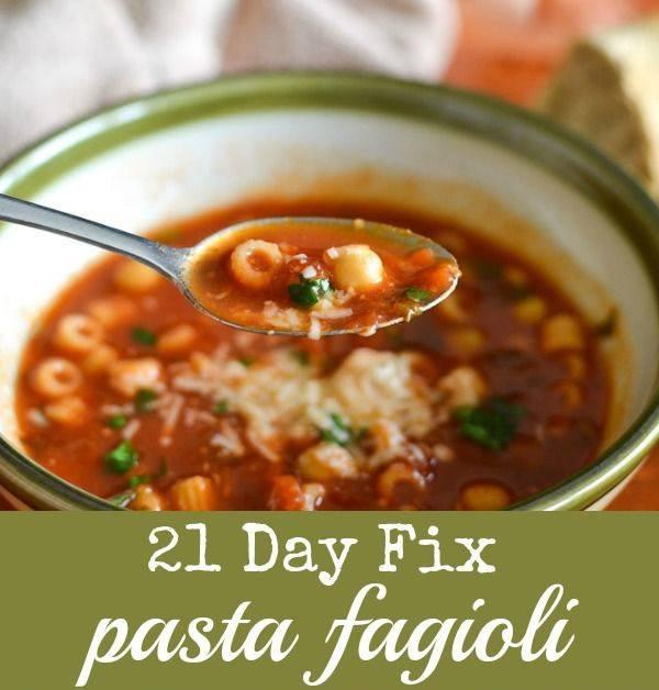 21 day fix soup