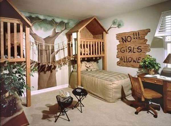 Big House Inside Bedroom 15 bedroom ideas for big kids | baby gizmo