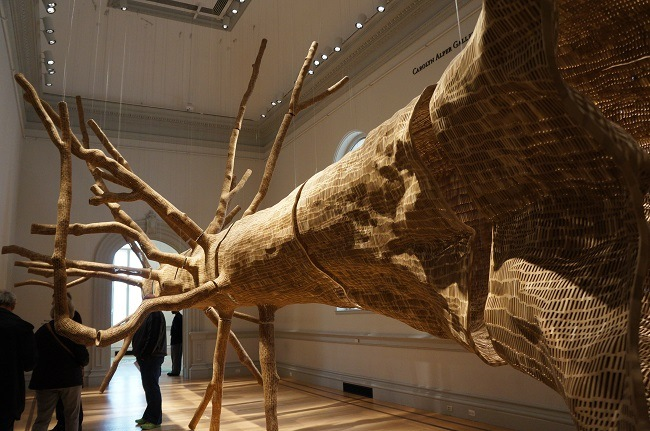 Middle Fork (Cascades) by John Grade at Renwick Gallery
