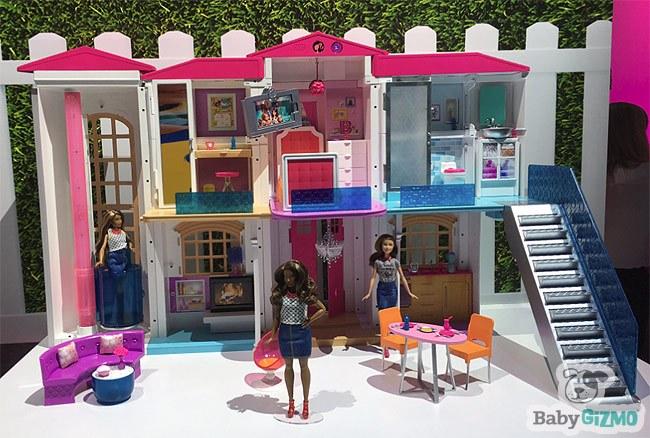 barbie smart house