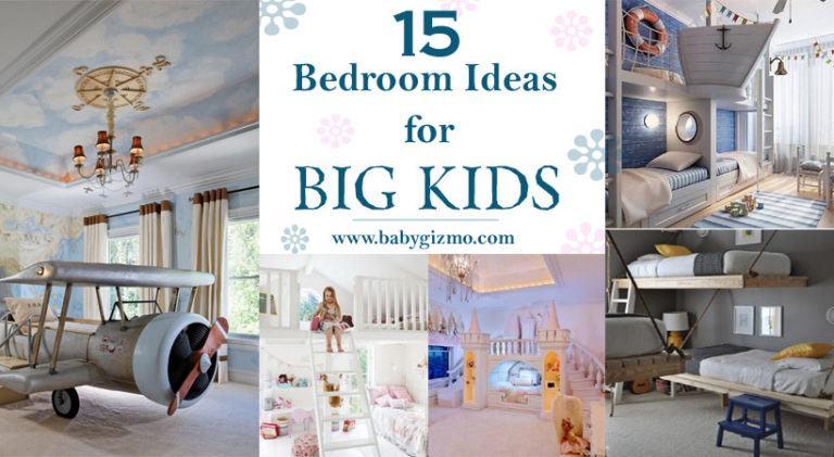 15 Bedroom Ideas for Big Kids