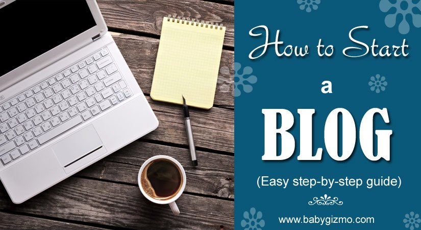 how to start a blog tips graphic