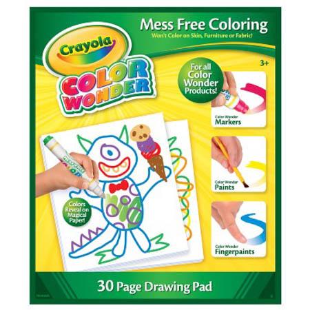 crayola mess free pad