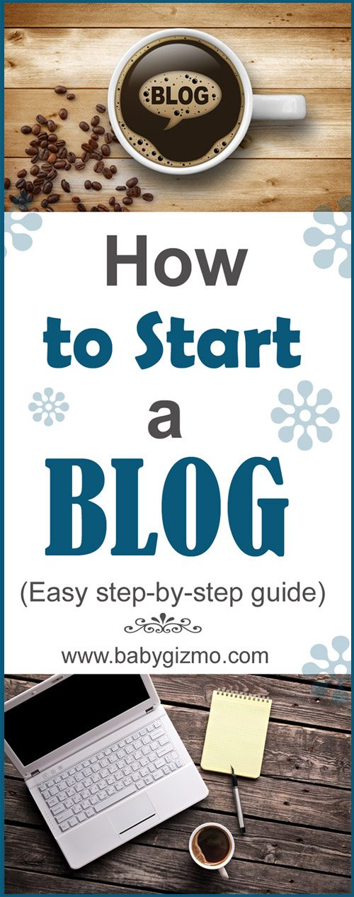 how to start a blog set up guide