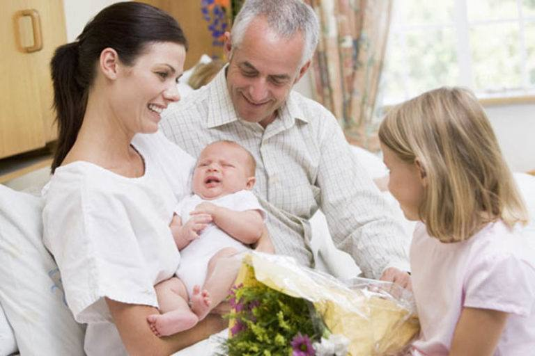 How To Address Visitors Around Your Newborn