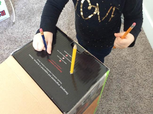 pencil box toddler activities