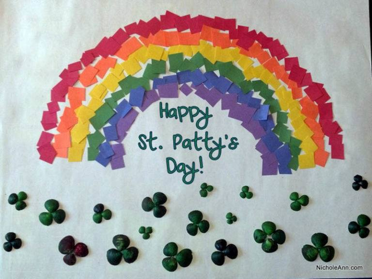 10 Easy St Patricks Day Crafts
