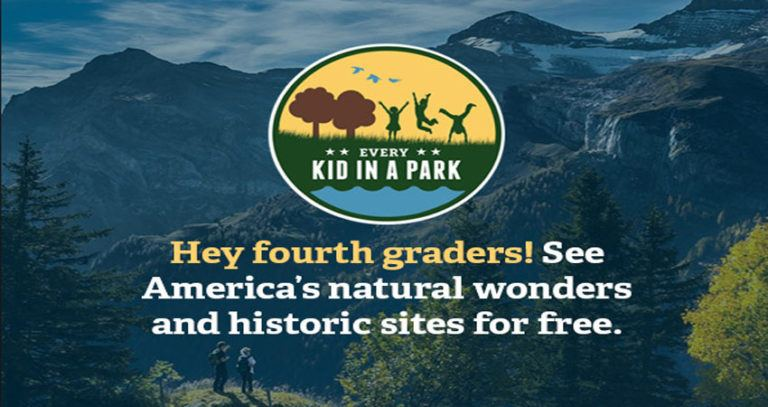 Every Kid in a Park Gives Free Passes to Parks to 4th Graders