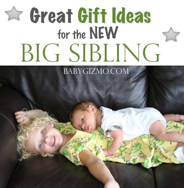 Great Gift Ideas for the New Big Sibling!