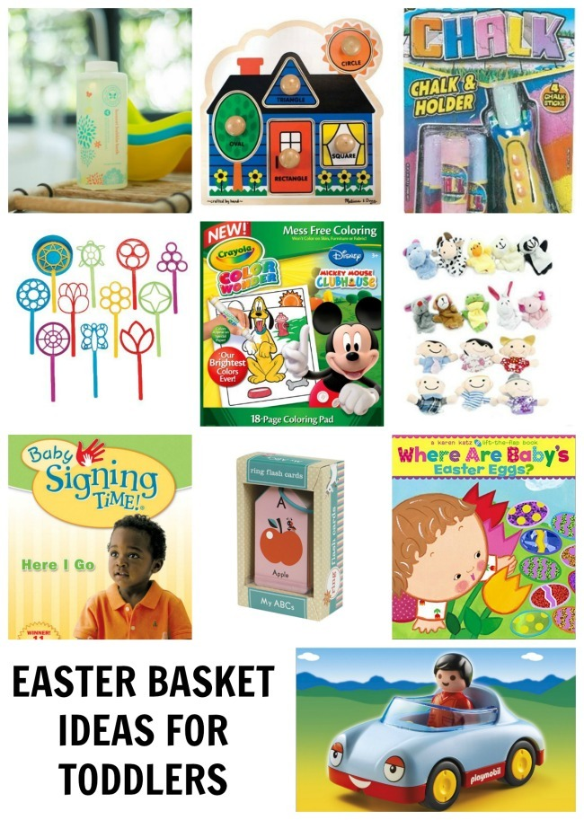 10 Easter Basket Ideas For Toddlers